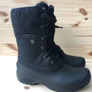 NORTH FACE SHELLISTA ROLL-DOWN/UP BOOTS. WMN 7